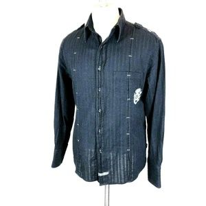 English Laundry Christopher Wicks Shirt Black M